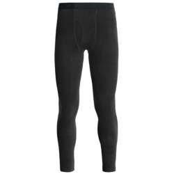 Terramar Fleece Base Layer Leggings (For Men) in Black