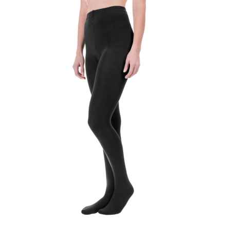 Terramar Footy Base Layer Bottoms (For Women) in Black - Closeouts