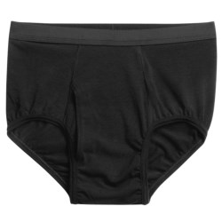 Terramar Four-Way Stretch Briefs (For Men) in Black