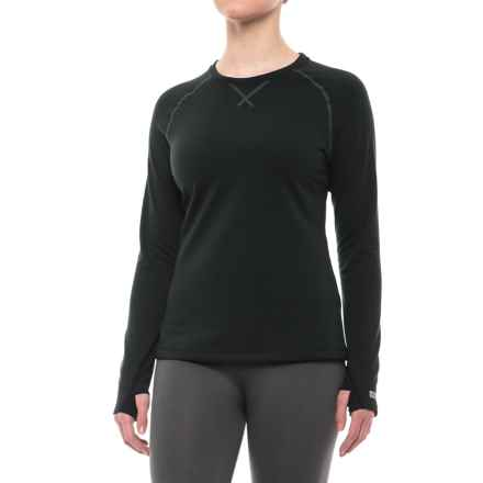 Terramar Genesis 3.0 Base Layer Top - UPF 50+, Long Sleeve (For Women) in Onyx - Closeouts