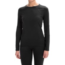 Terramar Genesis Fleece Base Layer Top - UPF 50+, Long Sleeve (For Women) in Black - Closeouts