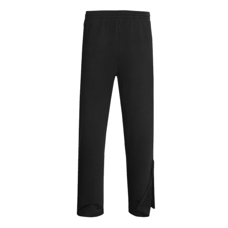 Terramar Geo Fleece Base Layer Bottoms (For Men) in Black