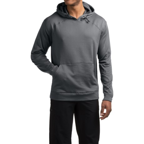 photo: Terramar Men's Geo Fleece Full Zip Hoodie