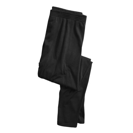 Terramar GEO Fleece Long Underwear Bottoms (For Men) in Black