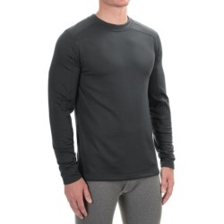 Terramar Geo Tek 3.0 Base Layer Top - UPF 50+, Heavyweight, Long Sleeve (For Men) in Black
