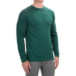 Terramar Geo Tek 3.0 Base Layer Top - UPF 50+, Heavyweight, Long Sleeve (For Men) in Evergreen