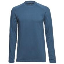 Terramar Geo Tek 3.0 Base Layer Top - UPF 50+, Heavyweight, Long Sleeve (For Men) in Steel Blue - Closeouts