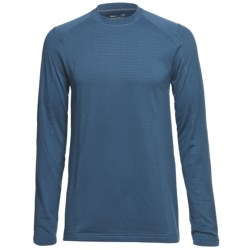 Terramar Geo Tek 3.0 Base Layer Top - UPF 50+, Heavyweight, Long Sleeve (For Men) in Steel Blue