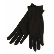 Terramar Glove Liners - Merino Wool (For Men and Women)  in Black - Closeouts