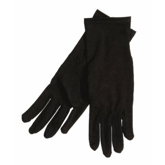 Terramar Glove Liners - Merino Wool (For Men and Women)  in Black