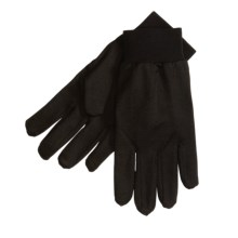 Terramar Glove Liners - Silk (For Men and Women) in Black - Closeouts