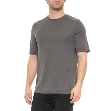 Terramar Gun Metal Helix Mountain Shirt - UPF 25, Short Sleeve (For Men) in Gun Metal