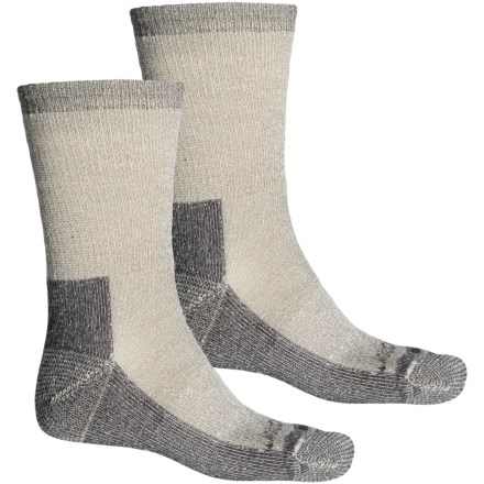 3540b07cbf Terramar Heavy Cushion Hiking Socks - 2-Pack, Merino Wool, Crew (For