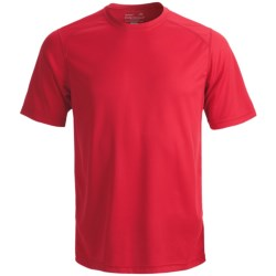 Terramar Helix T-Shirt - Lightweight, UPF 25+, Short Sleeve (For Men) in Steel Blue