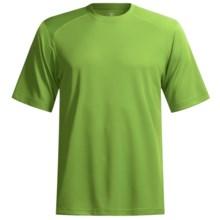 Terramar Helix T-Shirt - Lightweight, UPF 25+, Short Sleeve (For Men) in Citrus - Closeouts