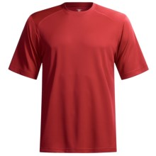 Terramar Helix T-Shirt - Lightweight, UPF 25+, Short Sleeve (For Men) in Flame - Closeouts
