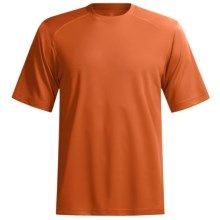 Terramar Helix T-Shirt - Lightweight, UPF 25+, Short Sleeve (For Men) in Lava - Closeouts