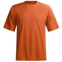 Terramar Helix T-Shirt - Lightweight, UPF 25+, Short Sleeve (For Men) in Lava - Closeouts