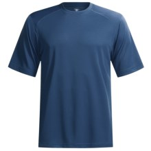 Terramar Helix T-Shirt - Lightweight, UPF 25+, Short Sleeve (For Men) in Steel Blue - Closeouts