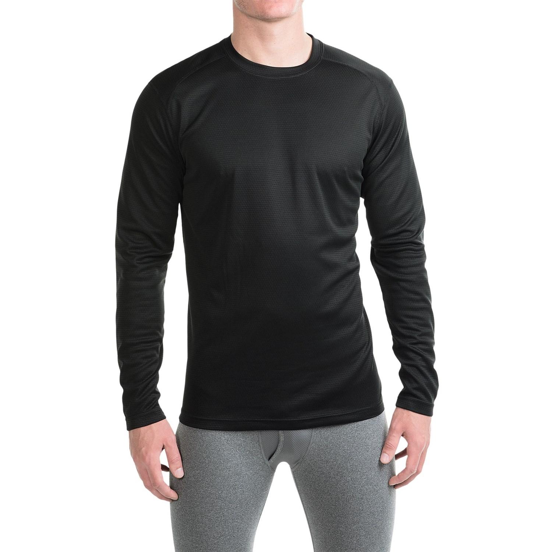 Terramar helix t shirt for men save 40 for Men s upf long sleeve shirt