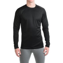 Terramar Helix T-Shirt - UPF 25+, Long Sleeve (For Men) in Black - Closeouts