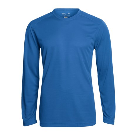 photo: Terramar Helix Crew Tee LS long sleeve performance top