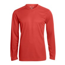 Terramar Helix T-Shirt - UPF 25+, Long Sleeve (For Men) in Flame - Closeouts