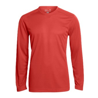 Terramar Helix T-Shirt - UPF 25+, Long Sleeve (For Men) in Flame