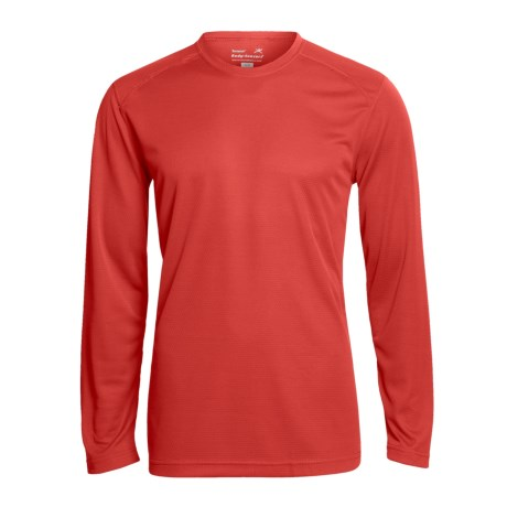 Terramar Helix T-Shirt - UPF 25+, Long Sleeve (For Men) in Black