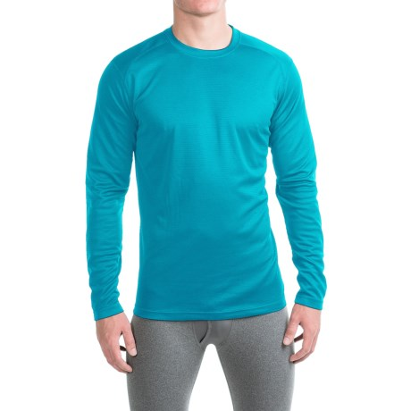 Terramar Helix T-Shirt - UPF 25+, Long Sleeve (For Men) in Lagoon