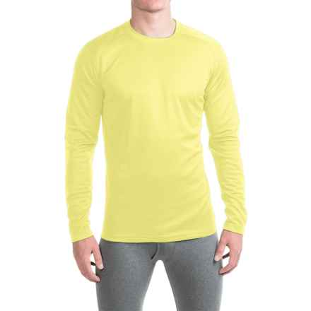 Terramar Helix T-Shirt - UPF 25+, Long Sleeve (For Men) in Limelight - Closeouts