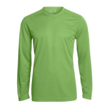 Terramar Helix T-Shirt - UPF 25+, Long Sleeve (For Men) in Olive - Closeouts