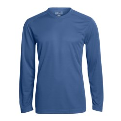 Terramar Helix T-Shirt - UPF 25+, Long Sleeve (For Men) in Gunmetal