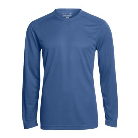 Terramar Helix T-Shirt - UPF 25+, Long Sleeve (For Men) in Black