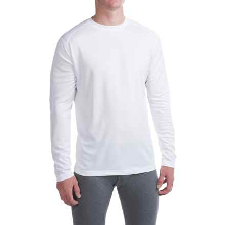 Terramar Helix T-Shirt - UPF 25+, Long Sleeve (For Men) in White - Closeouts