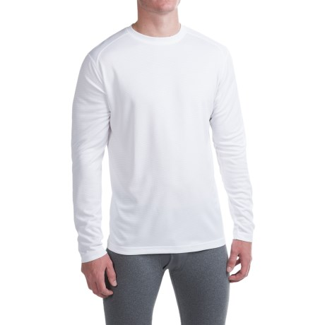 Terramar Helix T-Shirt - UPF 25+, Long Sleeve (For Men) in White