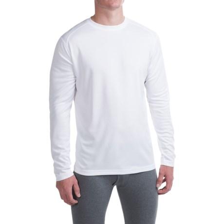 Terramar Helix T-Shirt - UPF 25+, Long Sleeve (For Men) in White