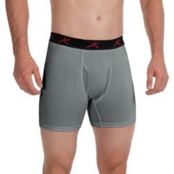 Terramar High-Performance Essentials Odor-Control Boxer Briefs - Pro Jersey, Climasense (For Men) in Black