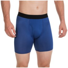 Terramar High-Performance Essentials Odor-Control Boxer Briefs - Pro Mesh, Climasense (For Men) in Indigo - Closeouts