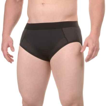 Terramar High-Performance Essentials Odor-Control Briefs (For Men) in Black - Closeouts