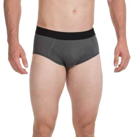 Terramar High-Performance Essentials Odor-Control Briefs - Pro Mesh, Climasense (For Men) in Grey - Closeouts