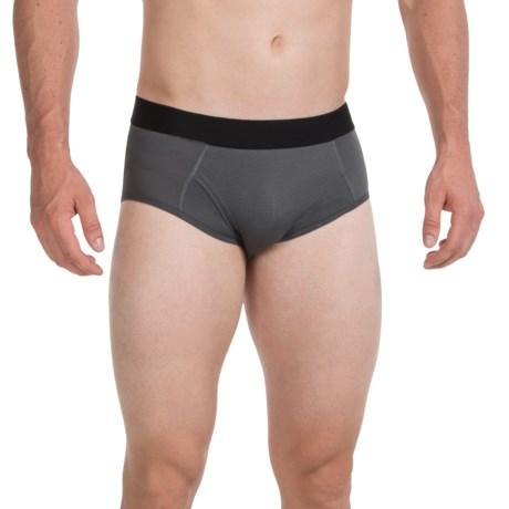 Terramar High-Performance Essentials Odor-Control Briefs - Pro Mesh, Climasense (For Men) in Black