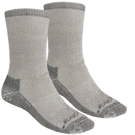 Terramar Hiker Crew Socks - 2-Pack, Merino Wool (For Men and Women)