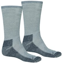 Terramar Hiker Socks - 2-Pack, Merino Wool (For Men and Women) in Denim Heather - Closeouts