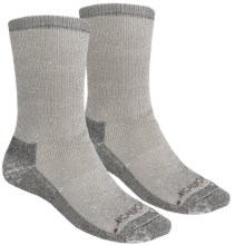 Terramar Hiker Socks - 2-Pack, Merino Wool (For Men and Women) in Grey Mix - Closeouts