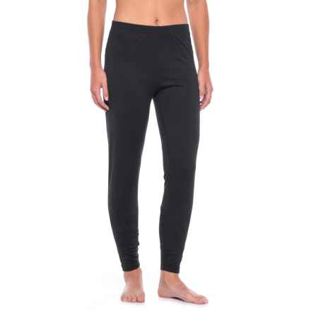 Terramar Hottotties Base Layer Pants - UPF 50+, Heavyweight (For Women) in 010  Black - Closeouts