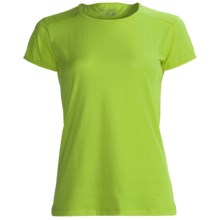 Terramar Hottotties Base Layer T-Shirt - Lightweight, Short Sleeve (For Women) in Citrus - Closeouts