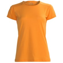 Terramar Hottotties Base Layer T-Shirt - Lightweight, Short Sleeve (For Women) in Tangerine - Closeouts