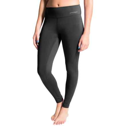 Terramar Hottotties® Cloud Nine CS 2.0 Base Layer Bottoms - UPF 25+ (For Women) in Black - Closeouts