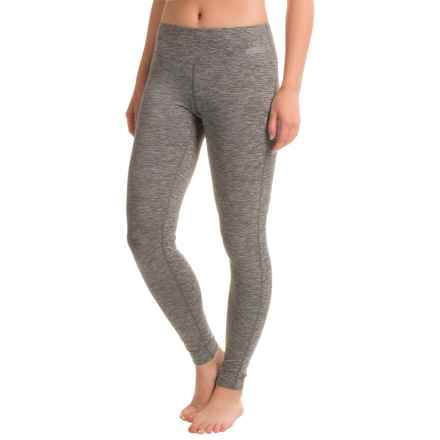 Terramar Hottotties® Cloud Nine CS 2.0 Base Layer Bottoms - UPF 25+ (For Women) in Grey Melange - Closeouts